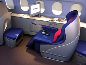 Malaysia Airlines Seat