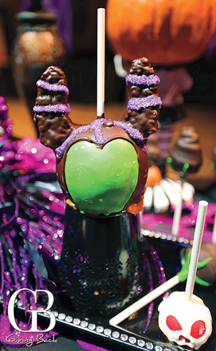 Maleficent Candy Apple
