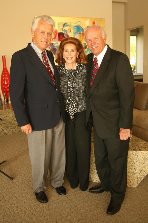 Malin Burnham, Reena Horowitz and Denny Sanford.JPG