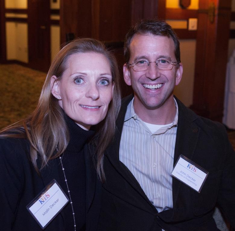 Malin and John Decker