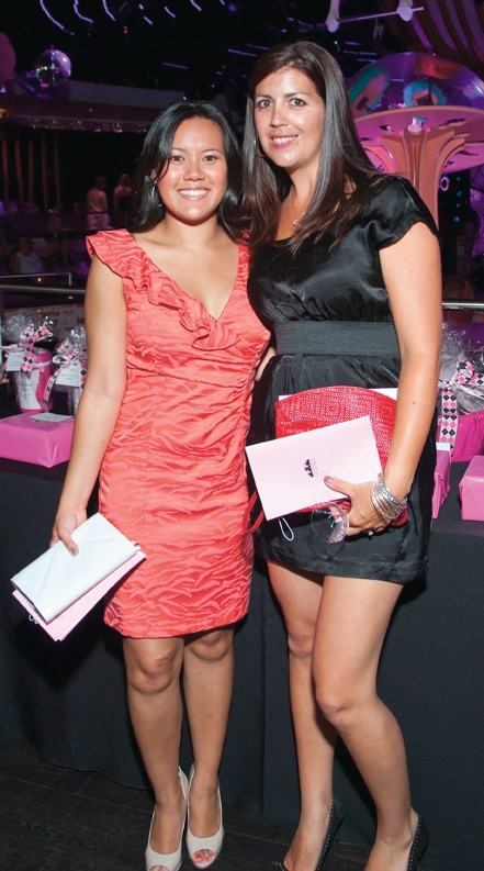 Malisa Sangsiripisal and Lisa Lafrantz