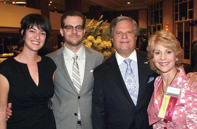 Mana Monzavi and David Lizerbram with Sol and Lauren Lizerbram.JPG