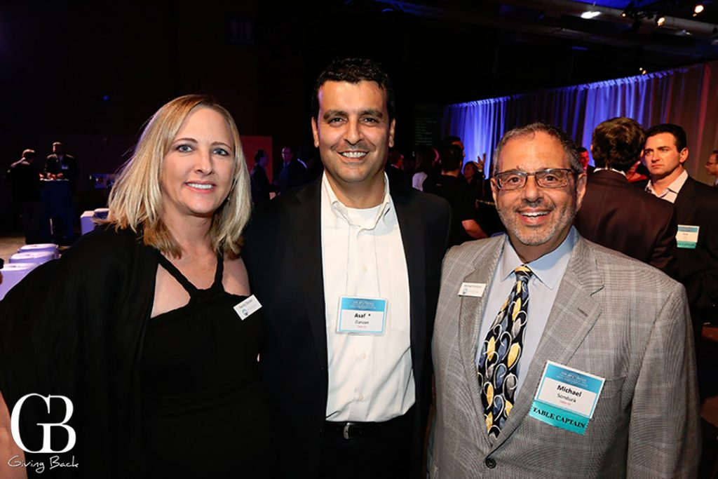 Mandy and Assaf Danzan with Michael Sonduck