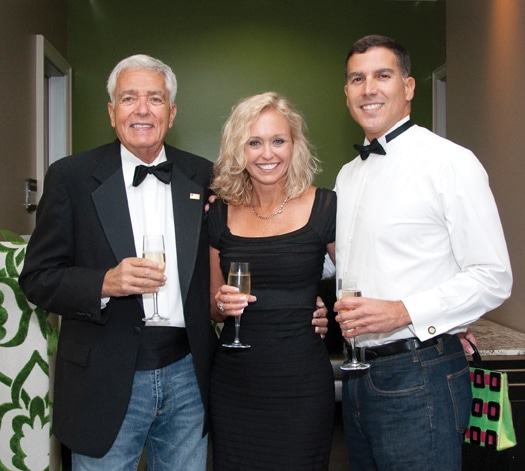 Manny Somer, Laura Prouse and Dan Garcia