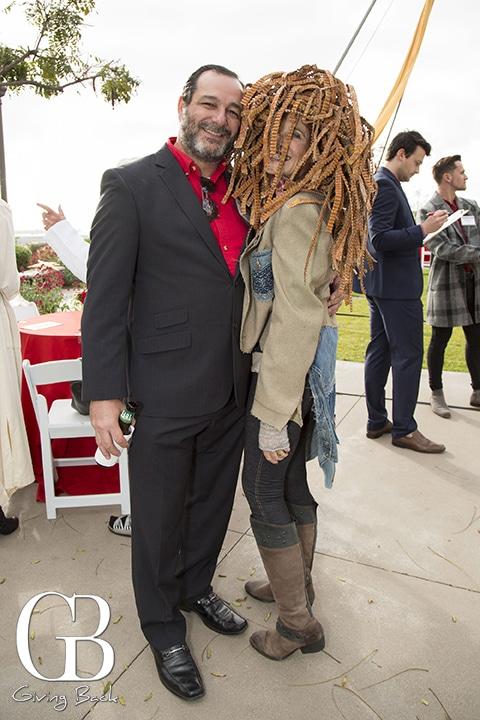 Manny Fernandes and Lynne Thrope