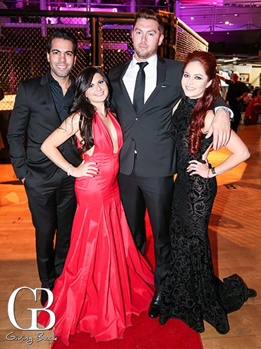 Manuel Sanchez  Ashli Finuoli  Thomas Hodges and Priscilla Estrada