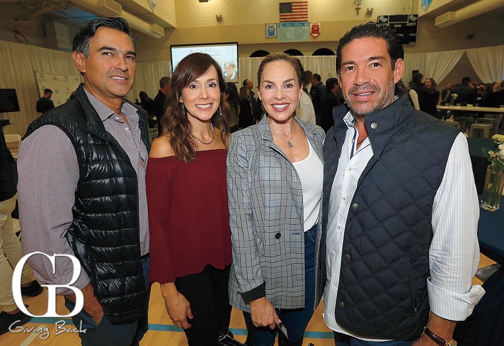 Manuel and Mirna Prieto with Roxana Rodriguez and Roberto Castro