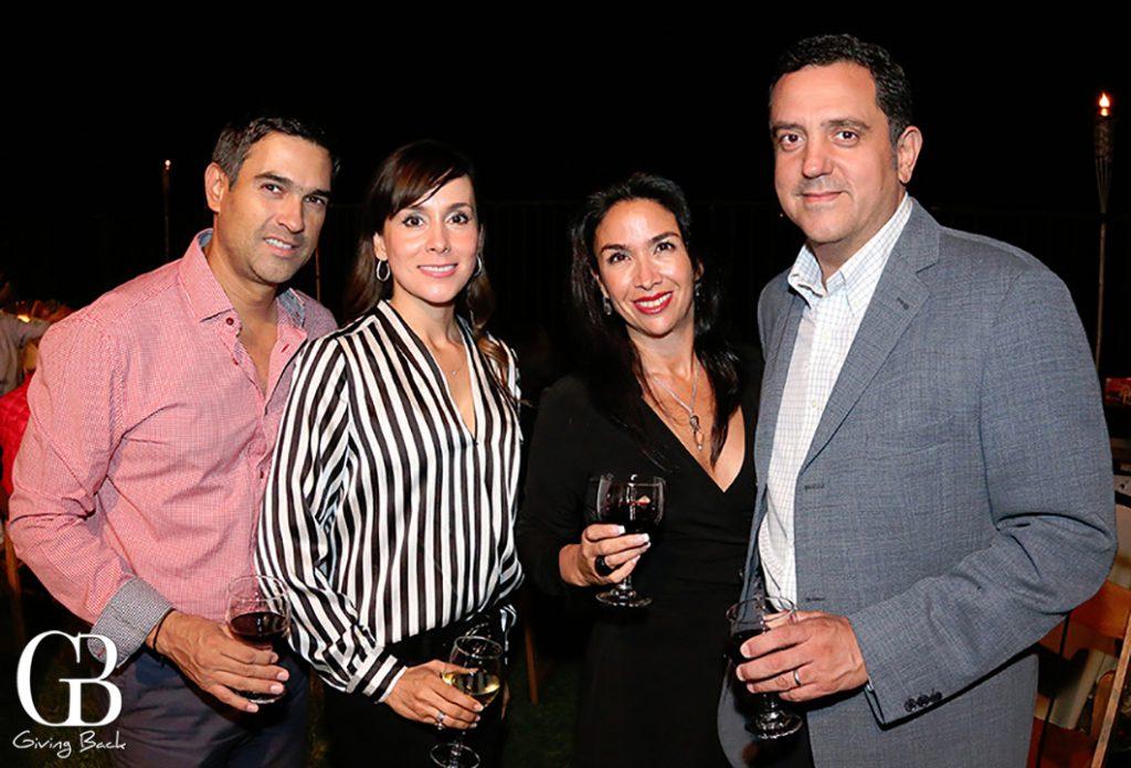 Manuel y Myrna Prieto con Claudia Castro y Hector Vanegas