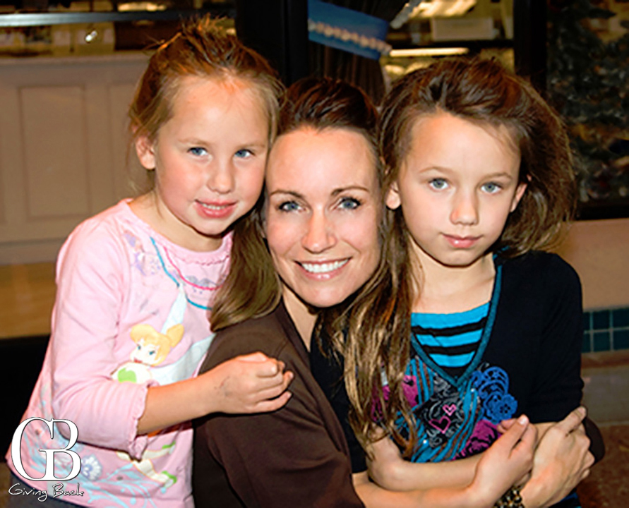 Mara and her daughters Kendall and Karyn
