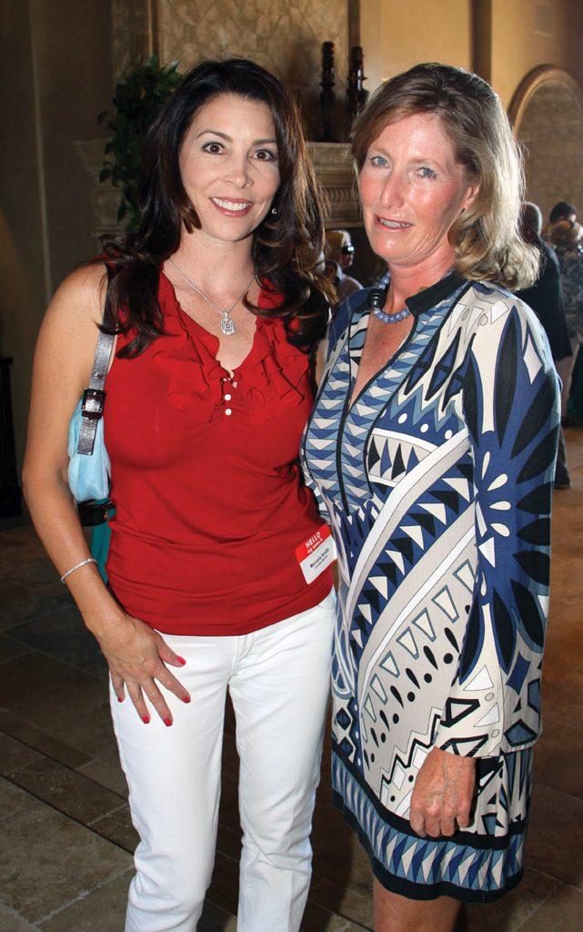 Marcela Smith and Kristen Pilegaard.JPG