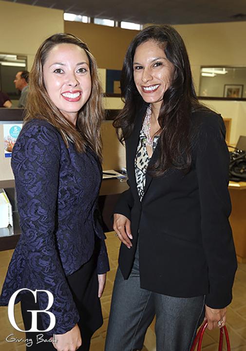 Marcela Alaniz and Valerie Hash