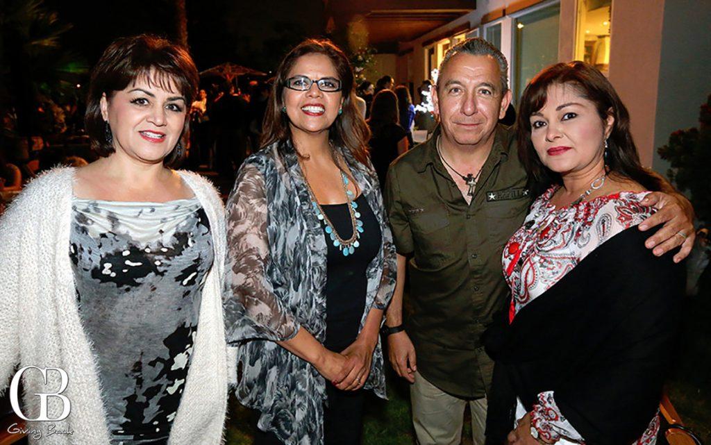 Marcela Sayas  Betty Ljungquist  Fernando Ventura y Ada Valenzuela