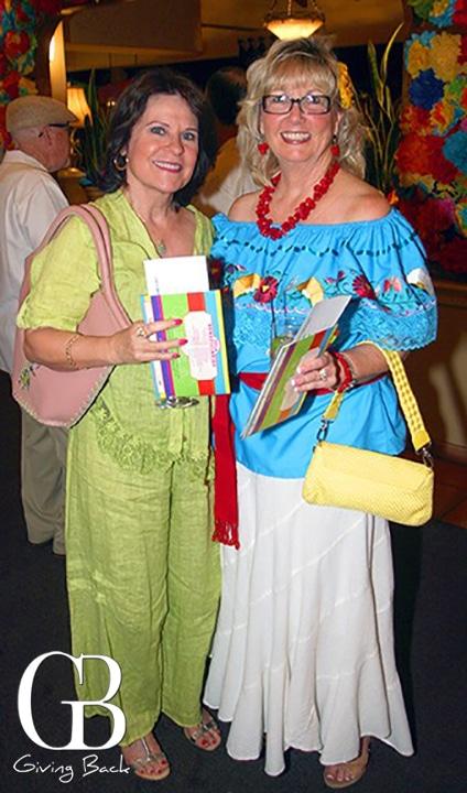 Marcia Piper and Elsian Contreras