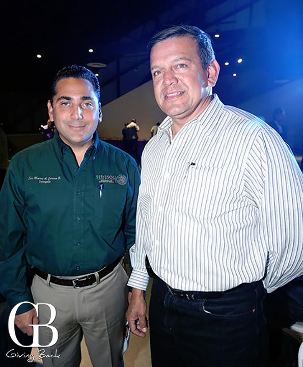 Marco Cacho y Pedro Cruz