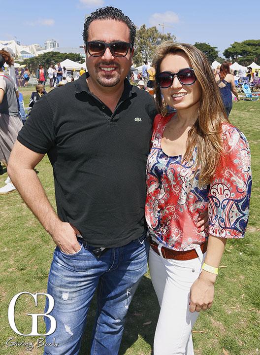 Marco Lopez and Alina Baun