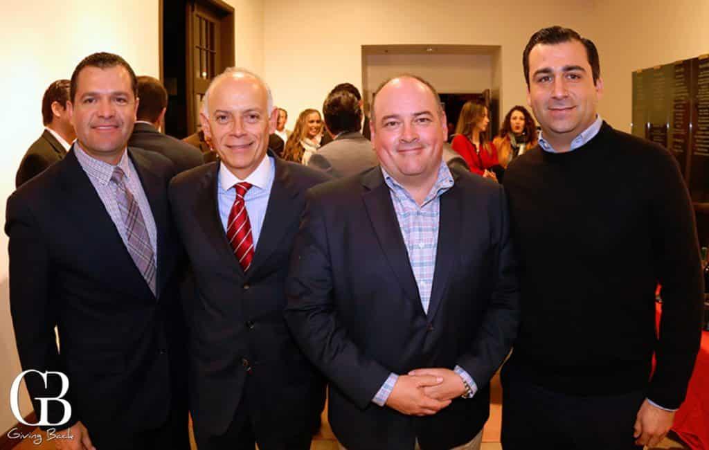 Marco Navarro  Billy Woolrich  Roberto Valdez y Rodolfo Valdez