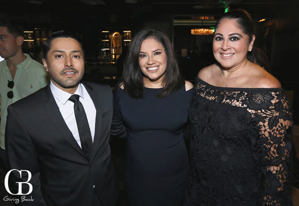 Marcos Serrano  Claudia Rodriguez and Marisol Rosas