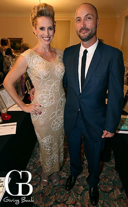 Marena Bronson and Chris Mowry