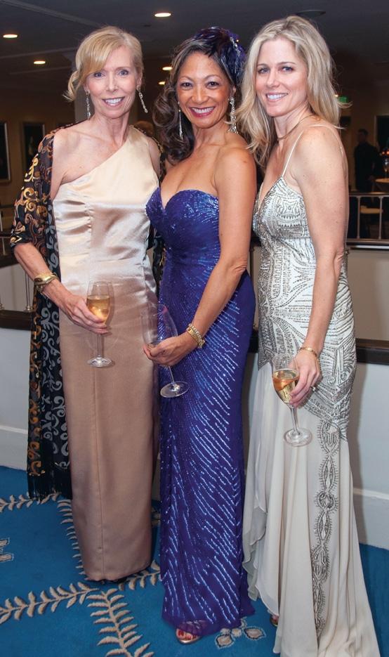 Margaret McAllister, Evelyn Lamden and Neva Bradley