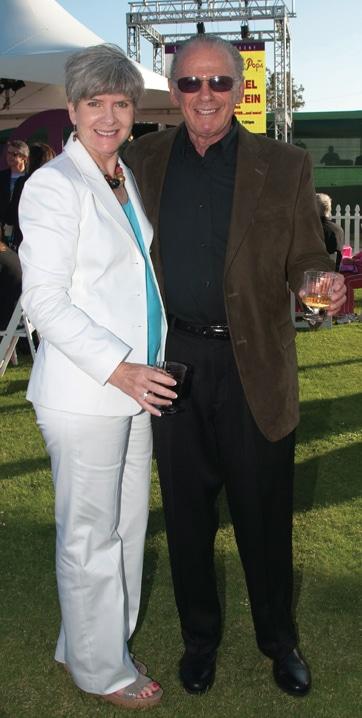 Margarita Baggett and Mort Wertheim