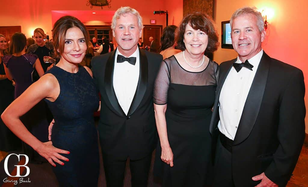 Margarita Wilder with Philip  Caroline and Joe Wilkinson