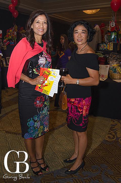 Margie Woods and Swan Li Jaziri