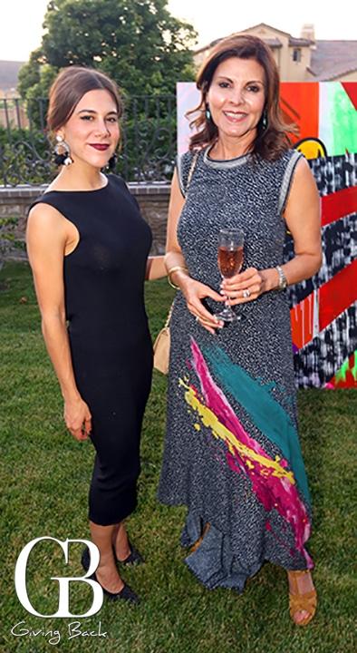 Margot Salido y Lourdes Valdes