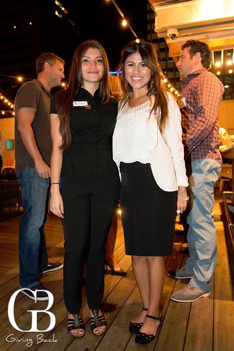 Mari Lee and Grace Diaz