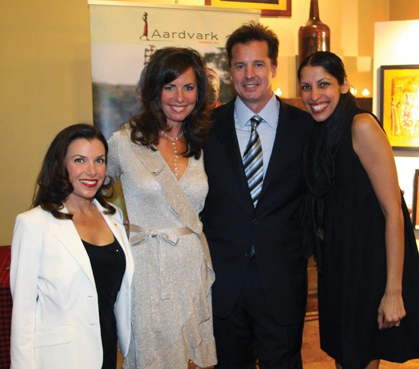Maria Assaraf, Kim and Tom Smart with Shakha Gillin +.JPG