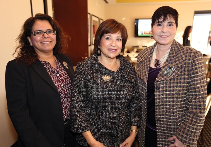 Maria Carriedo Ceniceros, Councilmember Mary Salas and Elizabeth Bustos.JPG