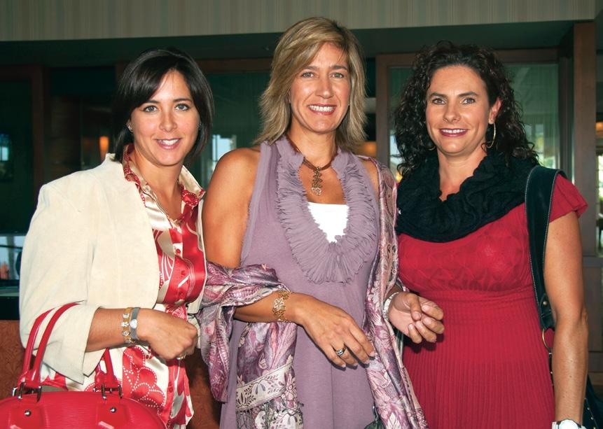 Maria Luna, Yaz Gomez y Leticia Blancafort