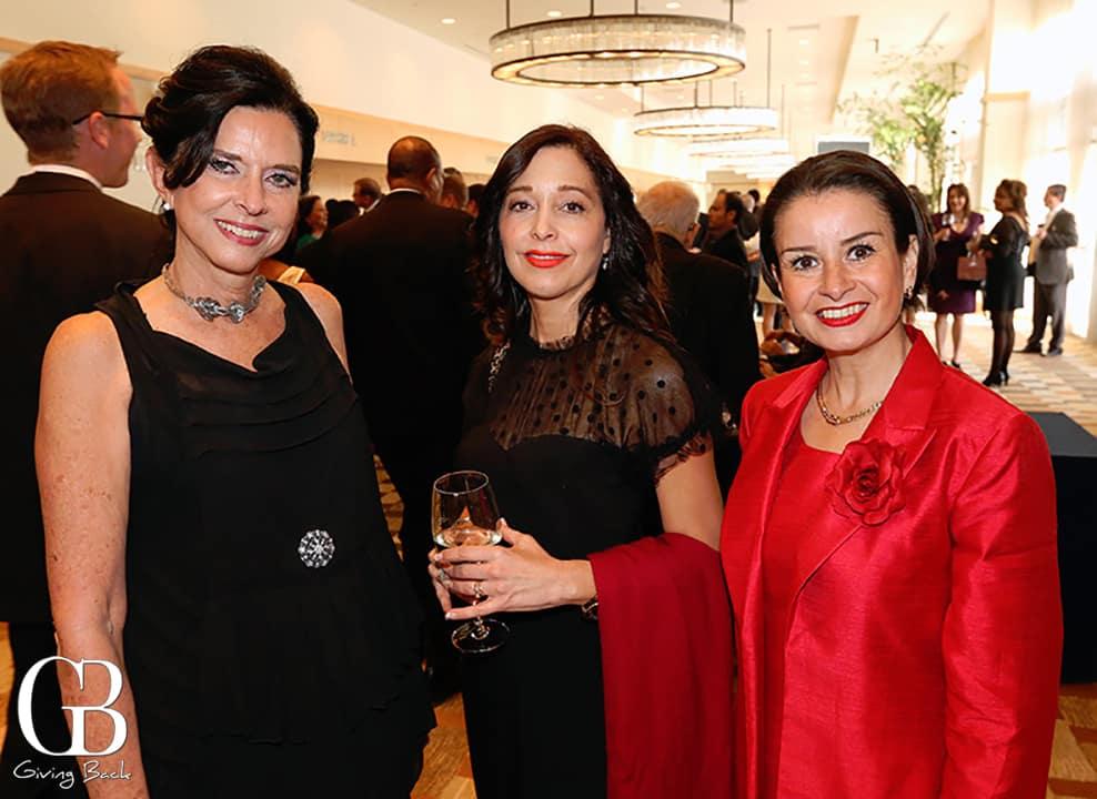 Maria Antonietta Beguerisse  Cecilia Villalpando and Edna Perez Corona