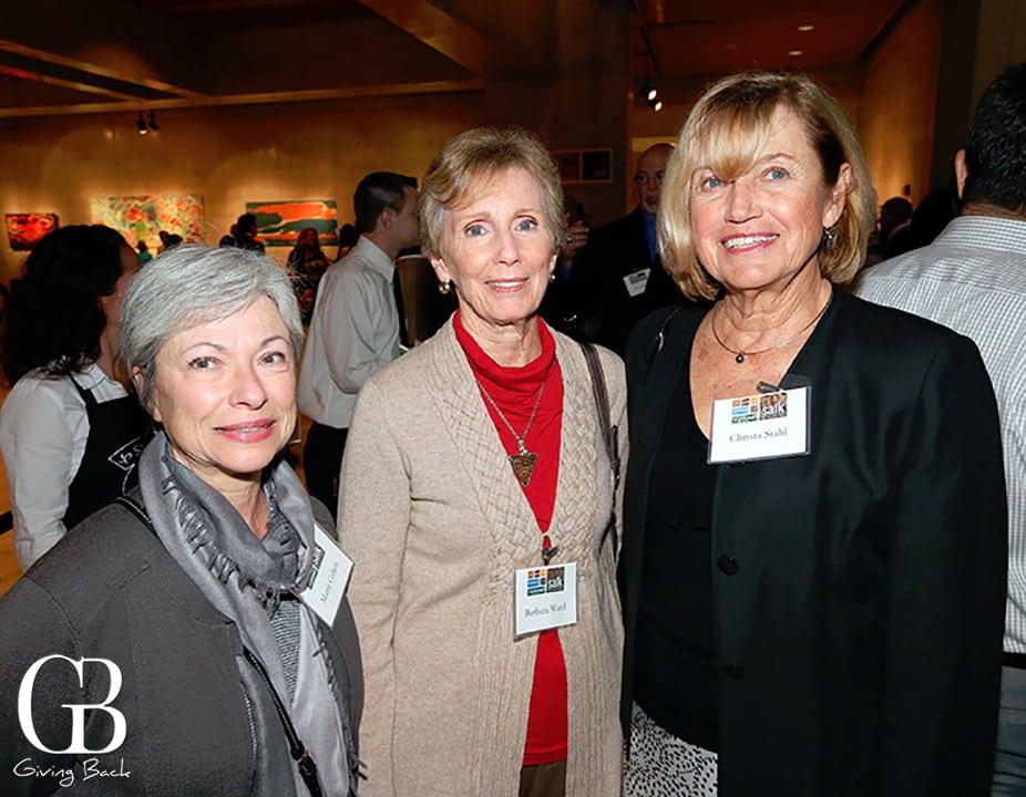 Maria Cohen  Barbara Ward and Christa Stahl