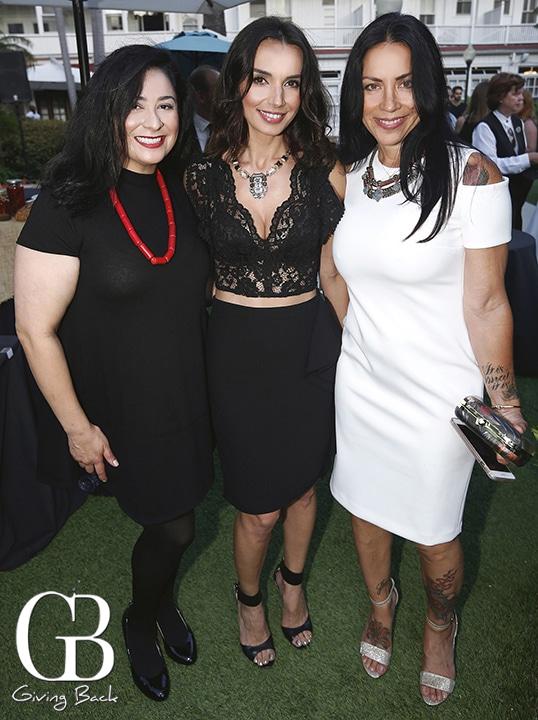 Maria Coleman  Valentina Valencia and Carla Parra