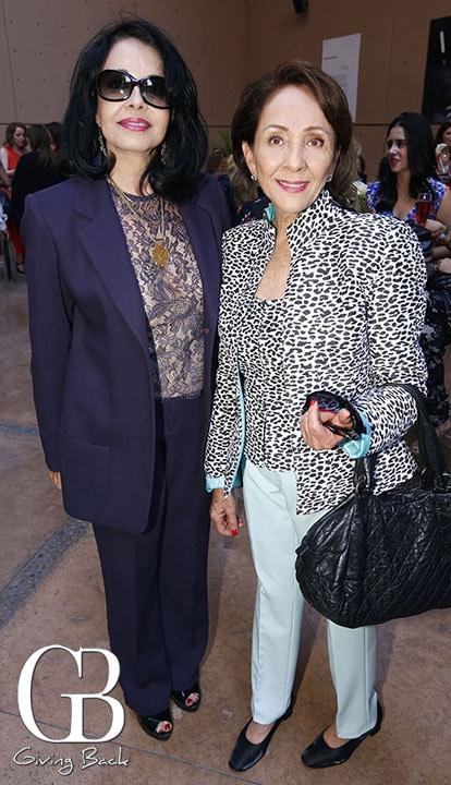 Maria Elena Chapula y Lupita Diaz de la Vega
