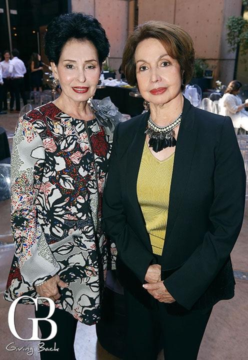 Maria Elena Escalanate y Laura Laborin