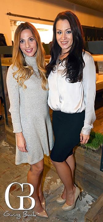 Maria Esquer and Ashley Barber
