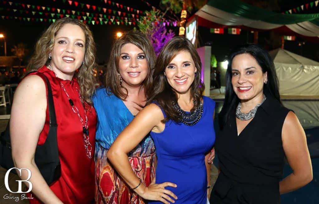 Maria Eugenia Figueroa  Martha Castro  Martha Antillon y Claudia Luna