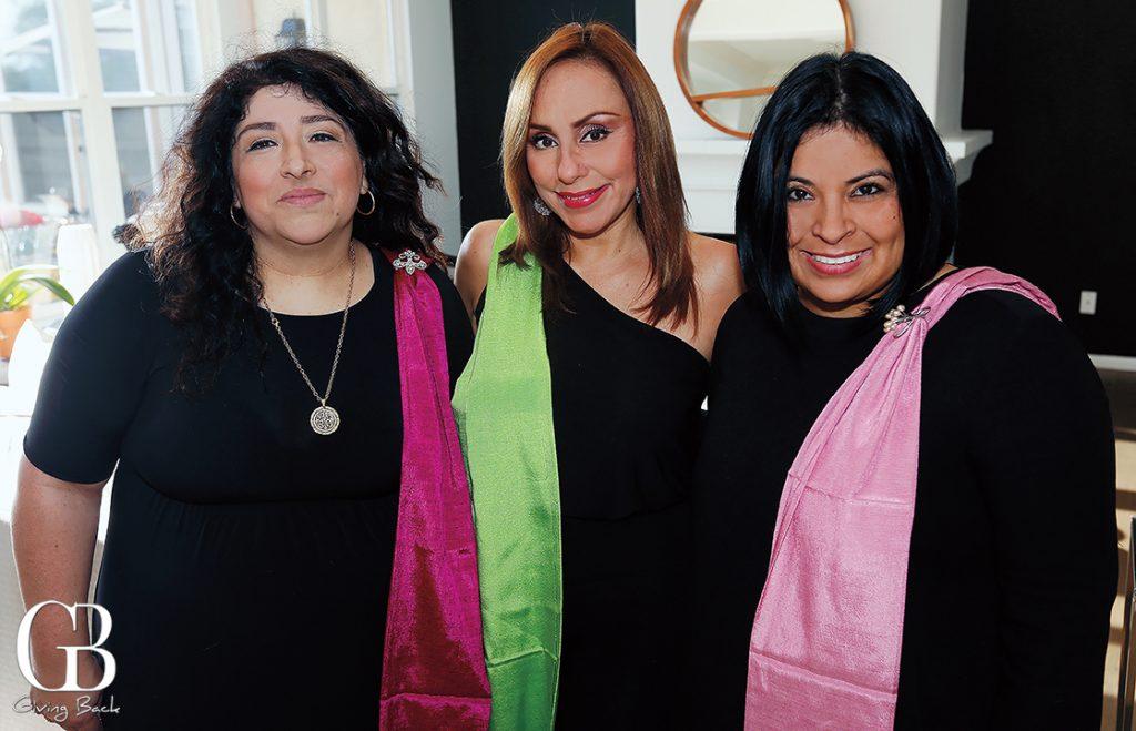 Maria Gomez  Araceli Ramos and Rocio Mejia