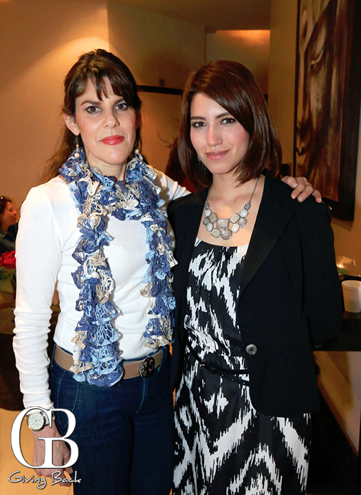 Maria Teresa Sanchez y Alejandra Cabral