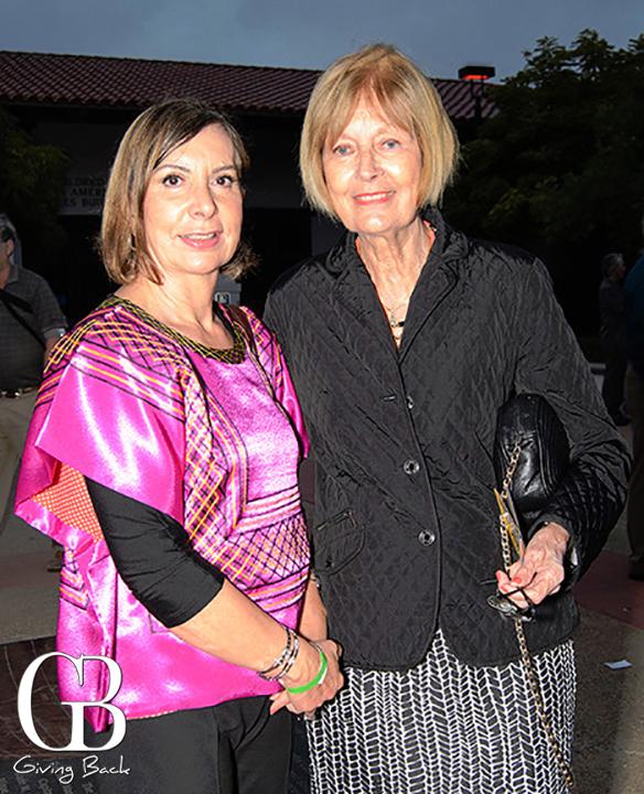Maria Walker and Beverly Cramb