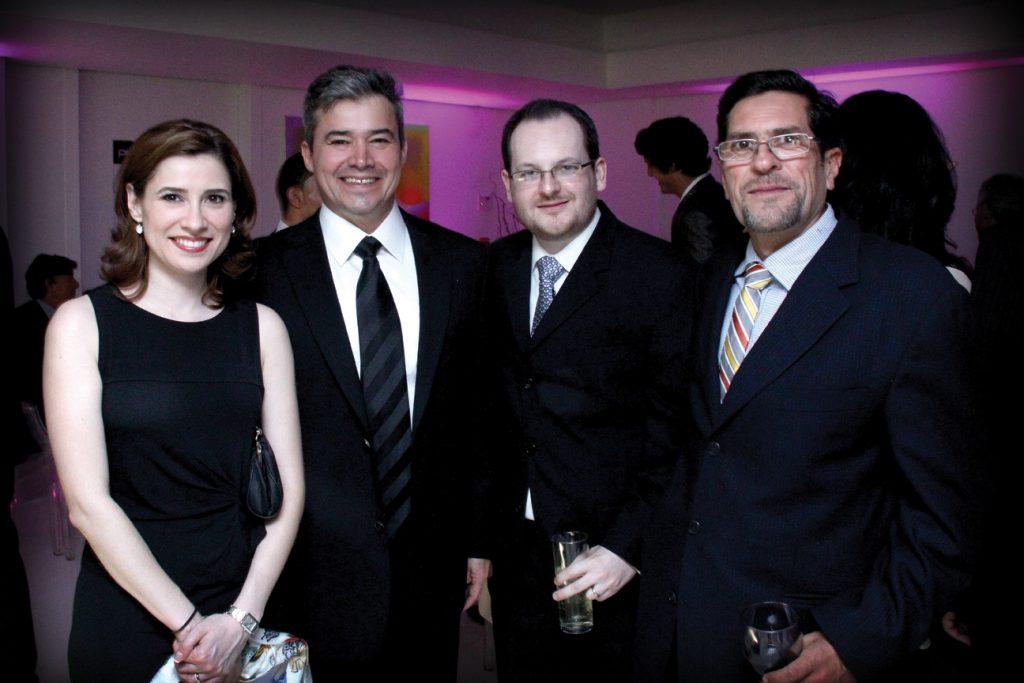 Mariana Jimenez, Dr. Alejandro Quiroz, Dr. Alberto de la Fuente, y Alberto Ordonez