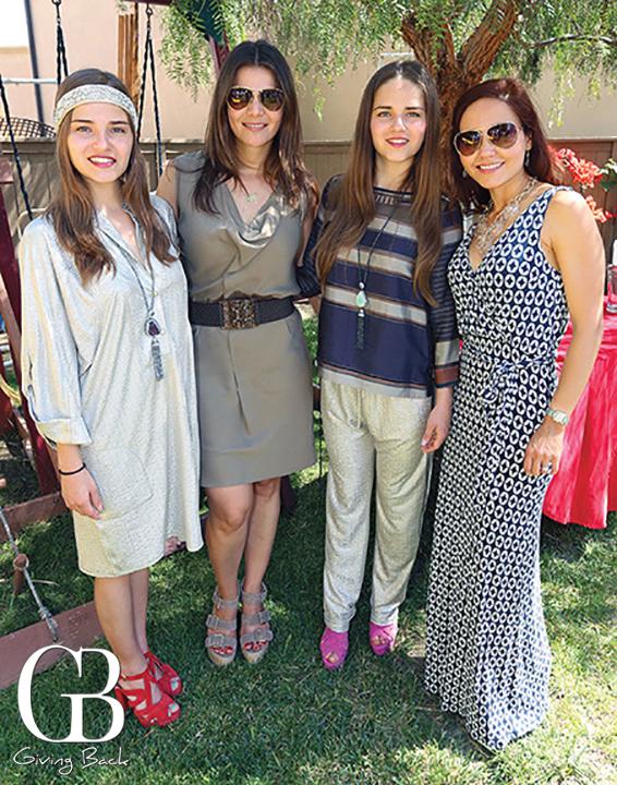 Mariana Campos  Ruth Melero  Adriana Campos and Laura Turner