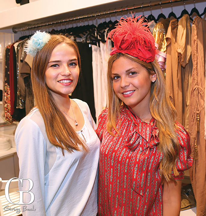 Mariana Campos and Miriam Martinez