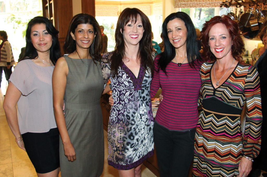 Marie Daniels, Angela Sharma, Andrene Dziubinski, Maggie Hoeper and Colleen Clayton.JPG