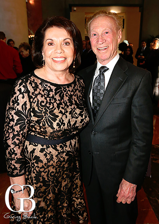 Marie Raftery and Bob Rubenstein