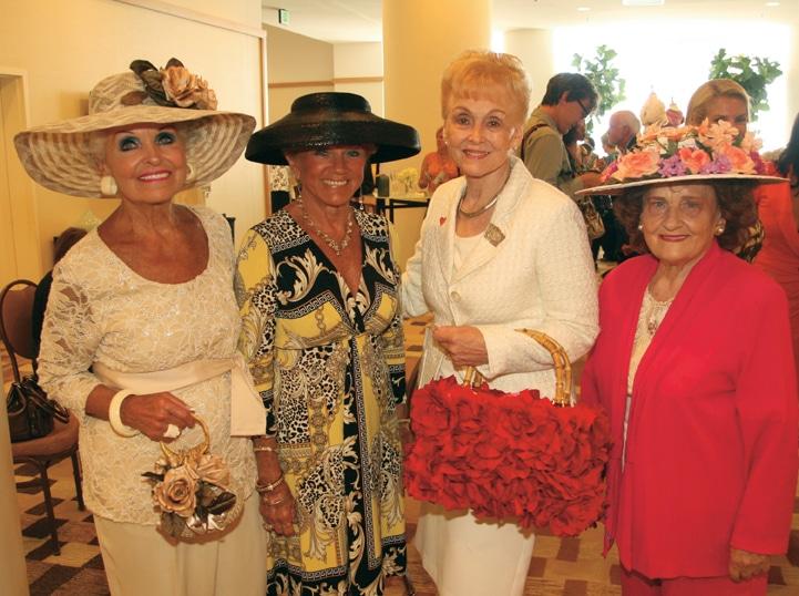 Marilyn Barrett, Shirley Harper, Maryann Hart and Olivia Rotert.JPG