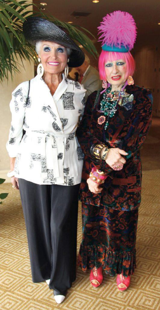 Marilyn Barrett and Zandra Rhodes.JPG