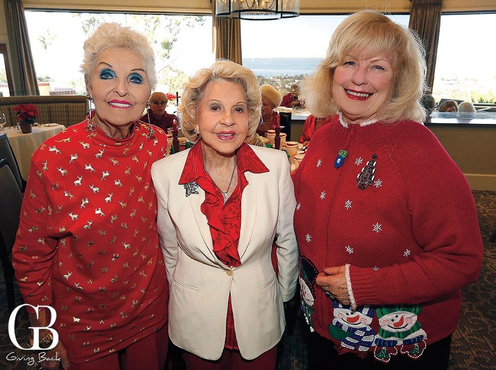 Marilyn Barrett  Peggy Fischer and Janice Weber