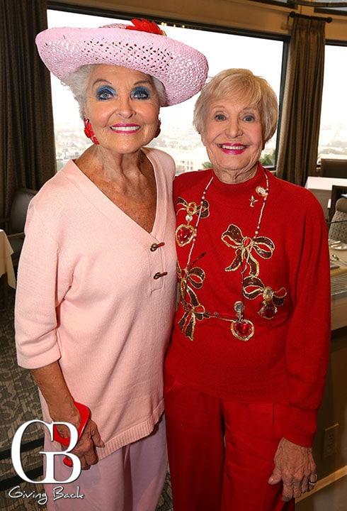 Marilyn Barrett and Sally Fuller